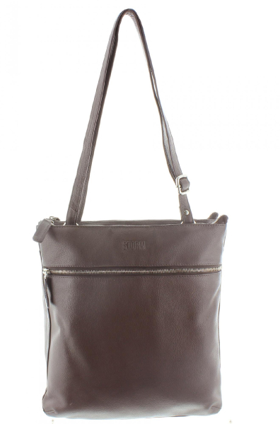 ADLINGTON LEATHER BAG BROWN