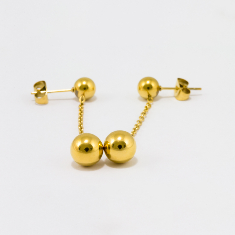 Alena Drop Earring - Gold