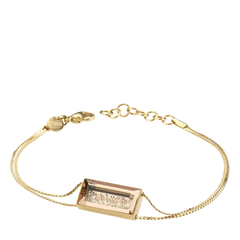 BAZELLE BRACELET GOLD - OUTLET