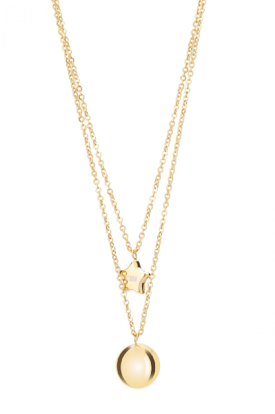 Carina Necklace - Gold