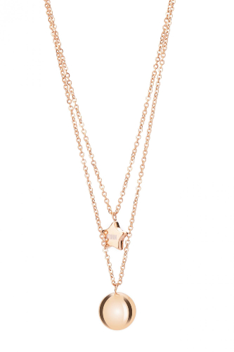 CARINA NECKLACE ROSE GOLD