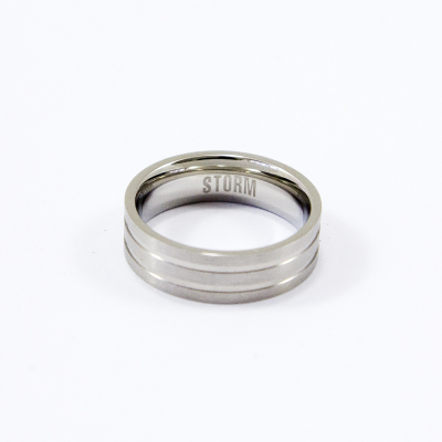 Cody-X ring - Silver - U