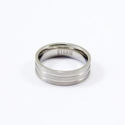 Cody-X ring - Silver - W
