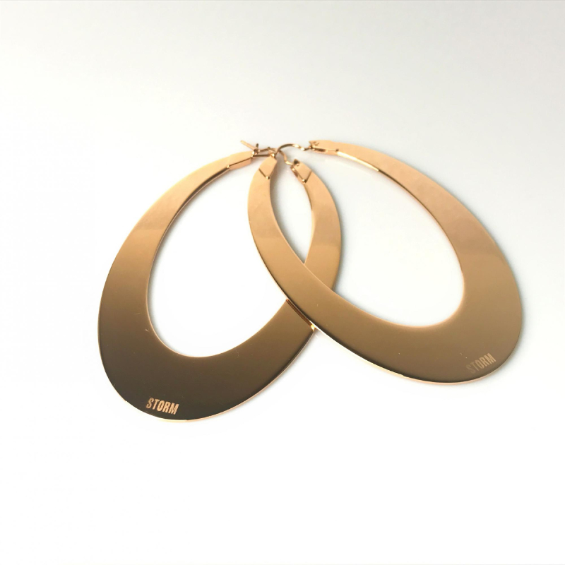 Connect Earrings Rose Gold #