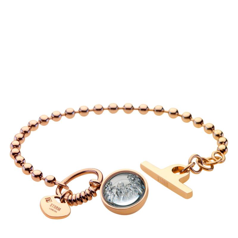 Crysta Ball Bracelet Gold