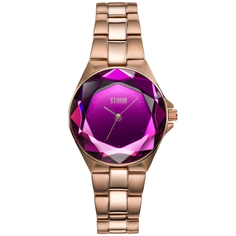 CRYSTANA ROSE GOLD PURPLE