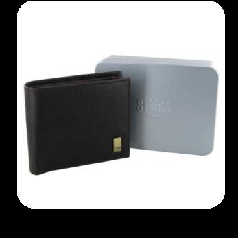Darlington - Embossed Wallet / Brown