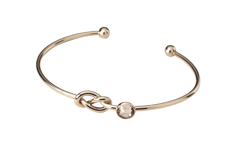 Elara Bangle - Rose Gold