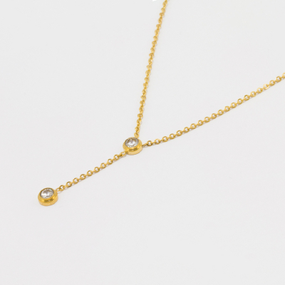 Elise Necklace - Gold #