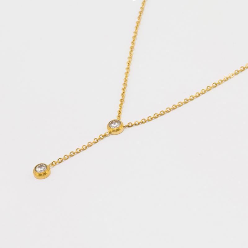 Elise Necklace - Gold #