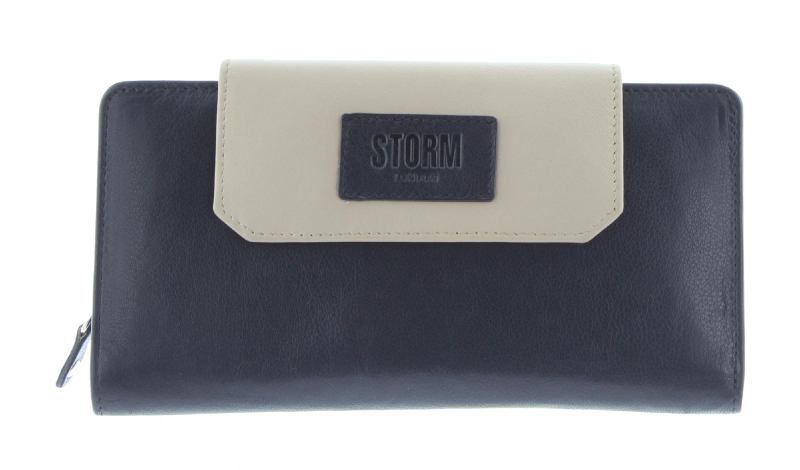 Embassy Large purse - Black/Cream