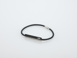 Fazer Leather Bracelet - Black #