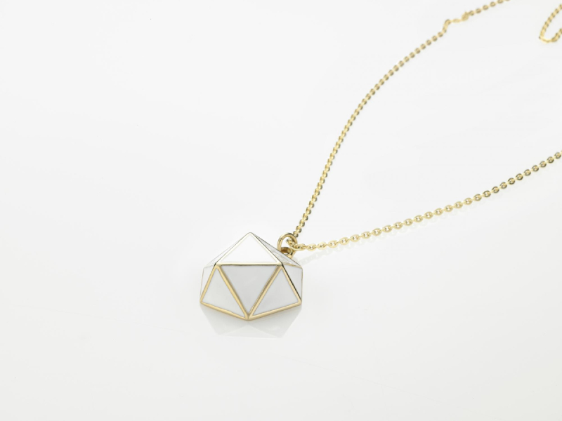GEO NECKLACE Gold