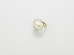 GEO RING Gold/L