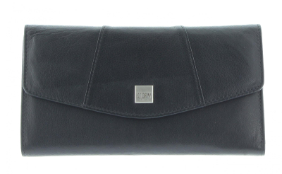 HARMONY LARGE PURSE BLACK