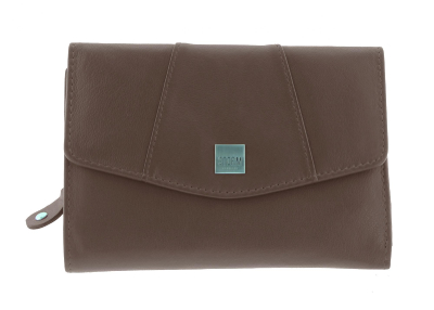 HARMONY MEDIUM PURSE BROWN