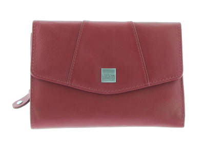 HARMONY MEDIUM PURSE RED