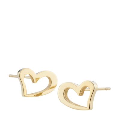 HEART EARRING GOLD #