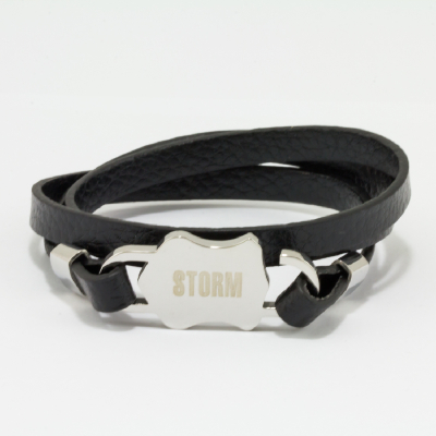 Hexon Bracelet - Black #