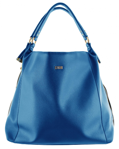 HOLBORN HOBO SHOPPER BLUE