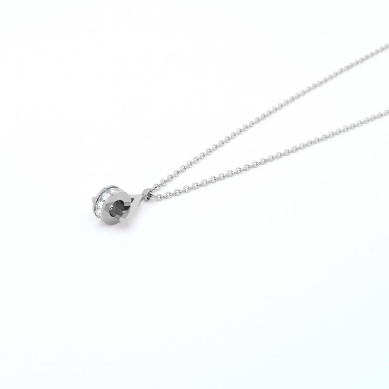 Illuminati Necklace - Silver