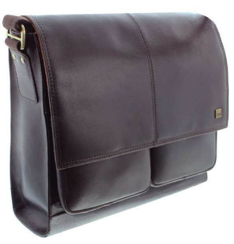 Islington - Leather Messenger bag - Brown