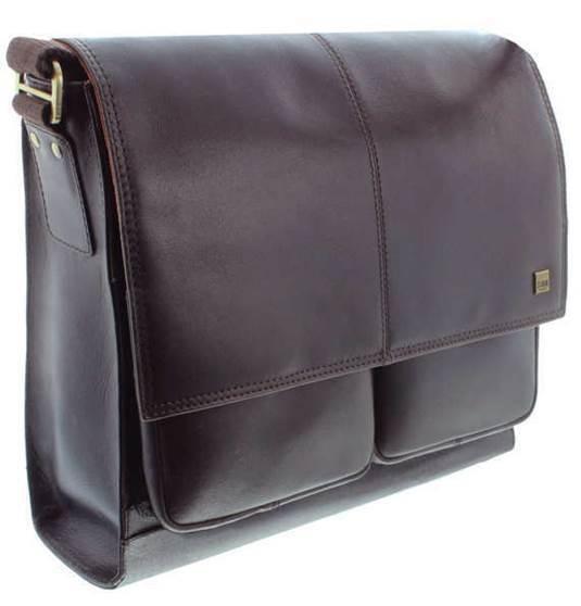 Islington - Leather Messenger bag - Brown