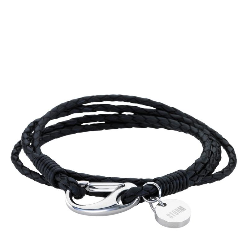 Jax Wrap Bracelet - Black