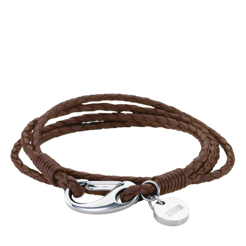 Jax Wrap Bracelet - Brown