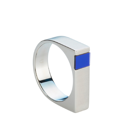 Jaxton Ring - Lazer Blue - S