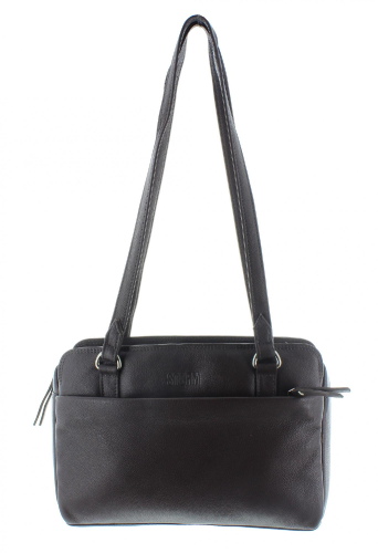 KESTREL LEATHER BAG BLACK
