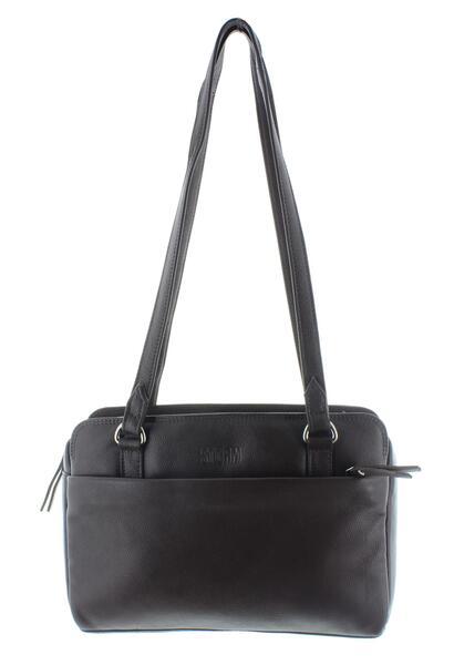 KESTREL LEATHER BAG BLACK