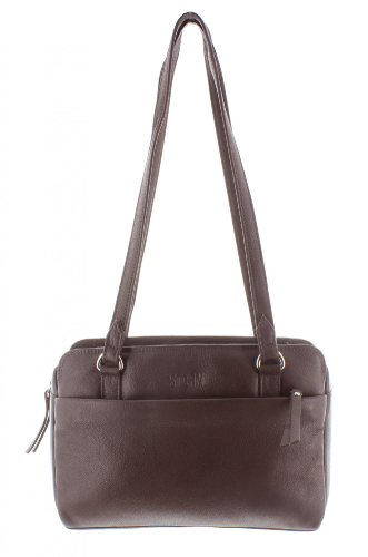 KESTREL LEATHER BAG BROWN