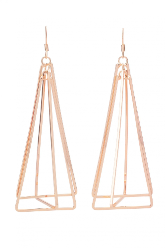 LEX EARRING ROSE GOLD
