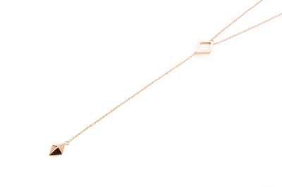 LUNA NECKLACE ROSE GOLD