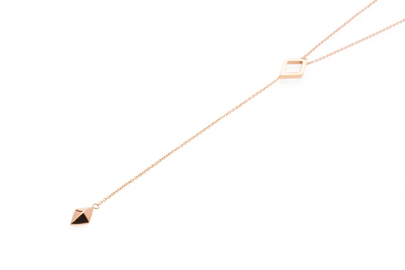 Luna Necklace - Rose Gold
