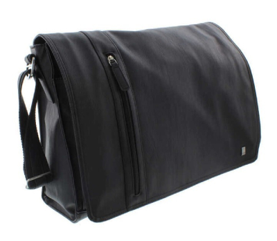 MALONE MESSENGER BAG BLACK