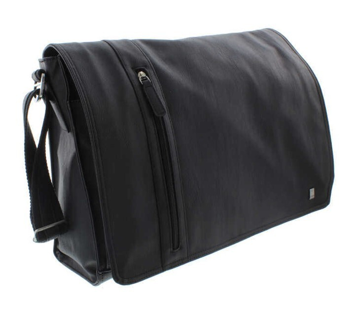 MALONE MESSENGER BAG BLACK