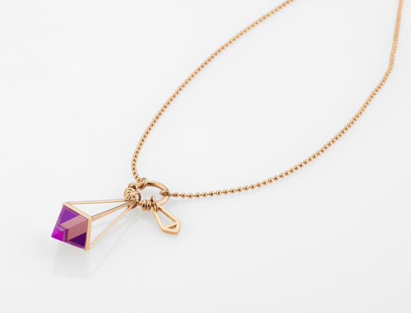 Marizza Necklace - Rose Gold