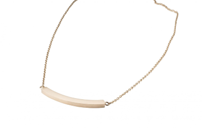 MEAVE NECKLACE ROSE GOLD