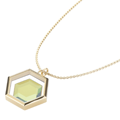 Mimoza-X Necklace - Gold