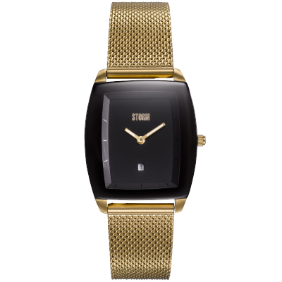 MINI ZAIRE GOLD BLACK