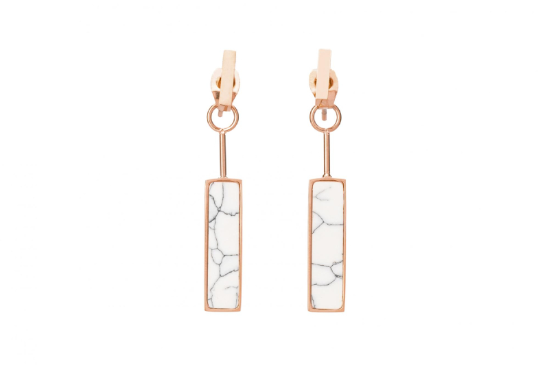 Mira Earring - Rose Gold