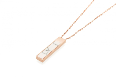 MIRA NECKLACE ROSE GOLD