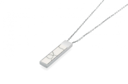 Mira Necklace - Silver