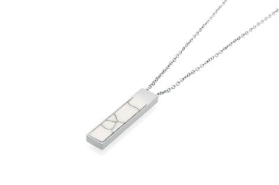 MIRA NECKLACE SILVER