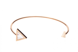 Nova Bangle - Rose Gold