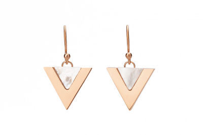 NOVA EARRING ROSE GOLD