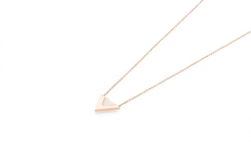 Nova Necklace - Rose Gold