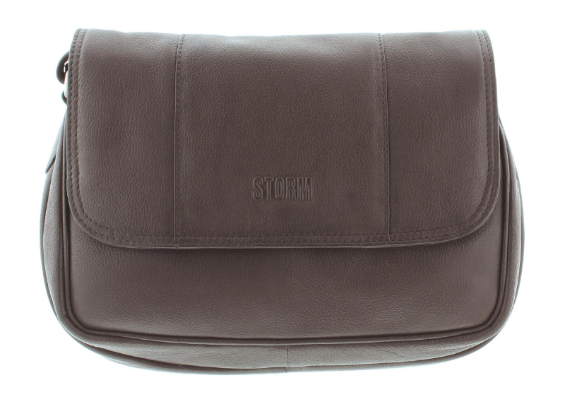 RAVEN LEATHER BROWN